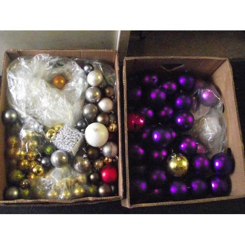 38 - 2 x boxes of multi coloured balls...