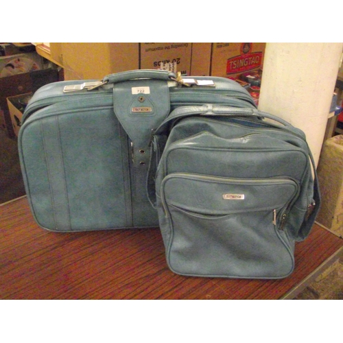46 - Samsonite Retro case and Cabin Bag...