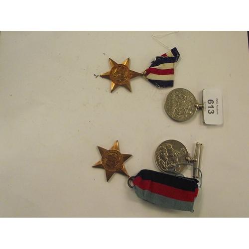 13 - 4 x WW2 Medals...