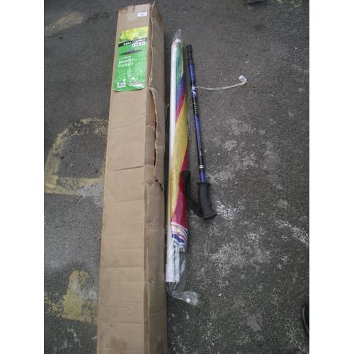 20 - 2.5m wood parasol...