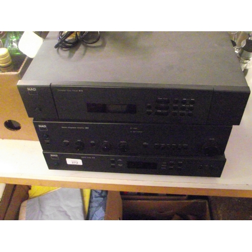 28 - 3 Nad seperates , multi cd , Tuner and integrated amplifier...