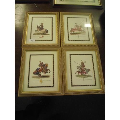 37 - 4 Kings of England prints...