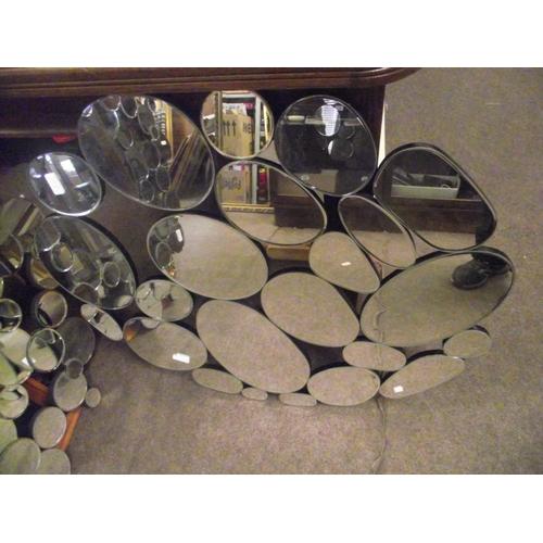 11 - 60 x 90cm bubble mirror....