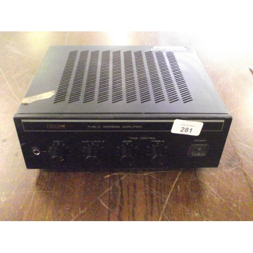 17 - Eagle public adress amplifier...