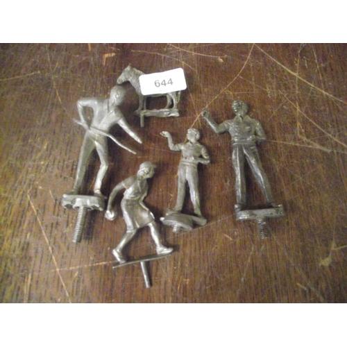 20 - Vintage metal figures...
