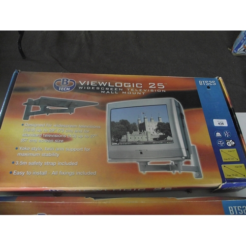 111 - TV Wall mount 16-29 inch...