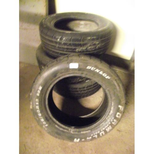 142 - 4 good tyres 185/60/R13....