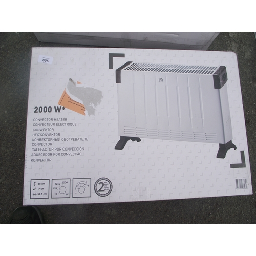 146 - New 2000 watt heater...