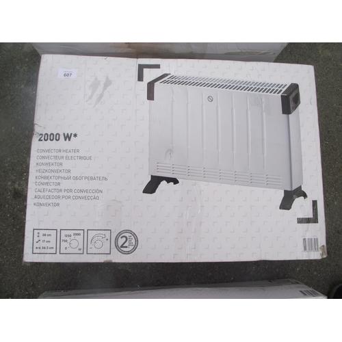 148 - New 2000 watt heater...