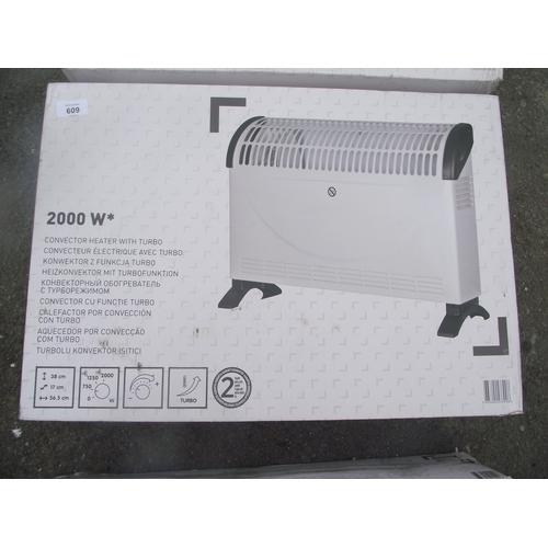 150 - New 2000 watt heater...