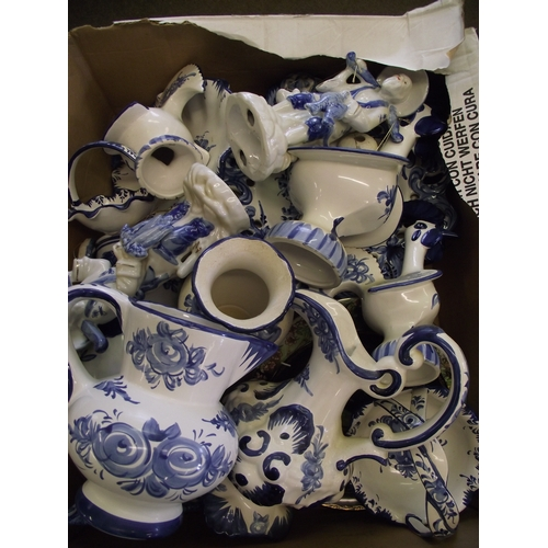 19 - Collection of as new blue and white ceramics etc....