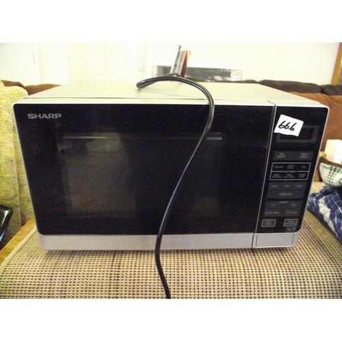 22 - A sharp microwave....