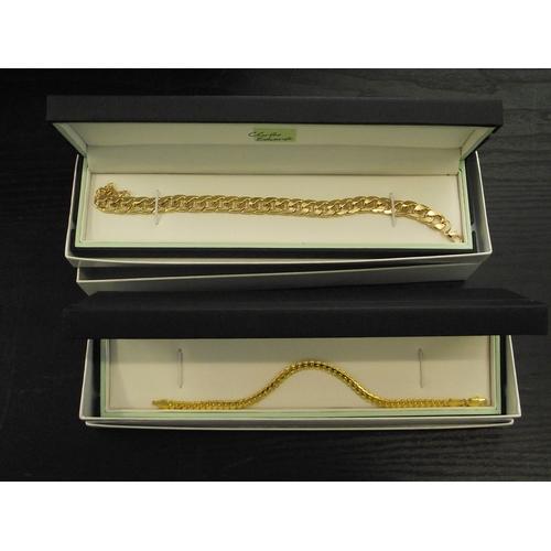 26 - 2 Boxed Charles edwards bracelets...