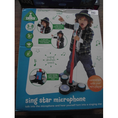 56 - Boxed Sing Star microphone...