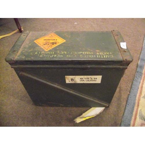 1 - Large Ammunition Box...