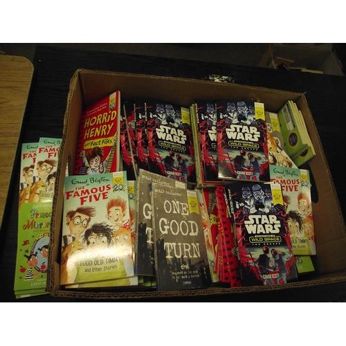 2 - Huge amount of new childrens books Enid blyton,starwars,Horrible Henry ect....