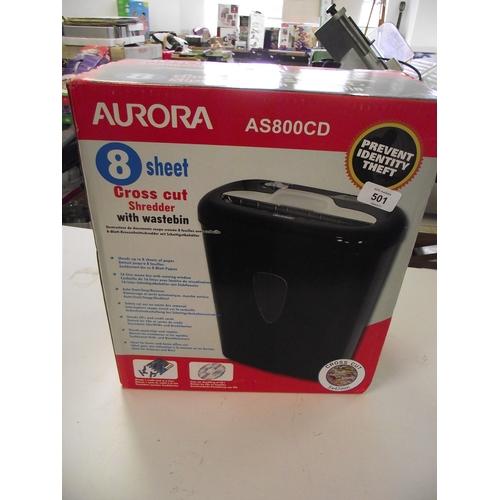 6 - Boxed Aurora Shredder...