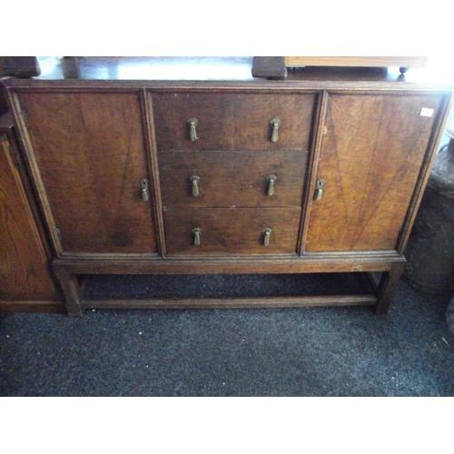 15 - Oak sideboard...