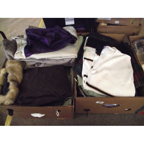 18 - 2 Boxes assorted Damart clothes etc...