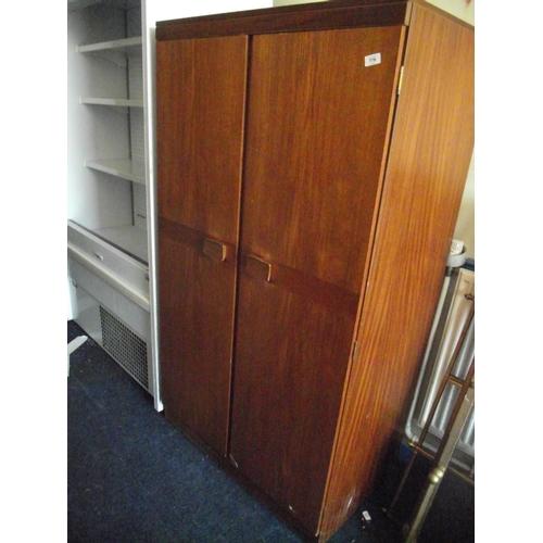 46 - oak wardrobe...