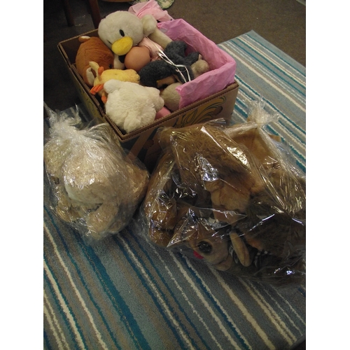 48 - Large collection of cuddly toys ect....
