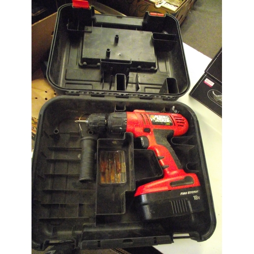 50 - Black and decker cordless drill....
