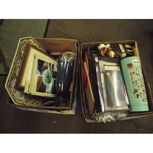 870 - 2 boxes assorted new goods etc...