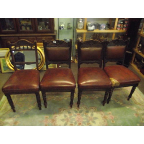 8 - 4 vintage chairs....