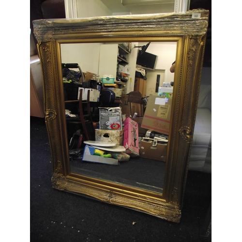 4 - 40 x 30 gilt mirror...