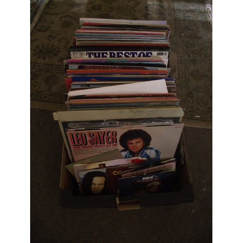 14 - Box of assorted records...