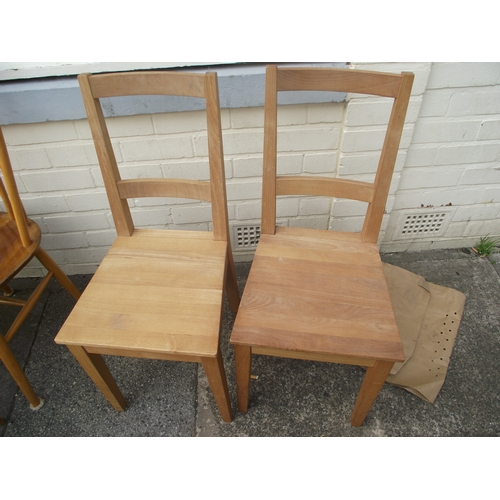 29 - 2 Pine Chairs...