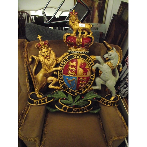 6 - Catterick garrison Crest...