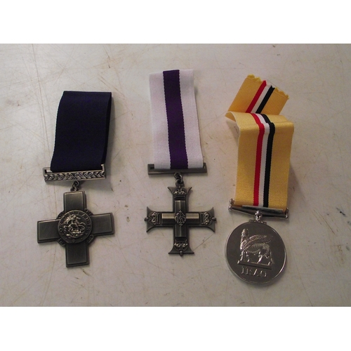 23 - Gallantry copy medal etc...