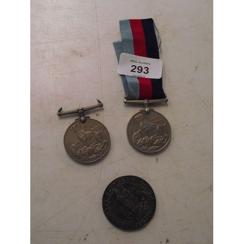 25 - 2 WW2 Medals plus 1 other...