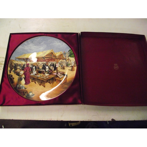 35 - Marks and Spencer Centenary collectors plate cased....