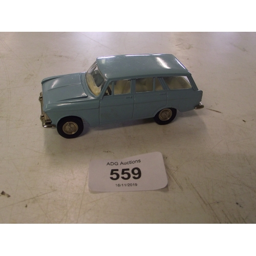 25 - Rare MOCKBN4 A3 Diecast Model 1:43 Made in USSR Moscvitch estate car....
