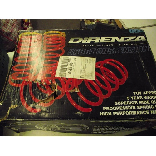 30 - Set of direnza sports springs used...