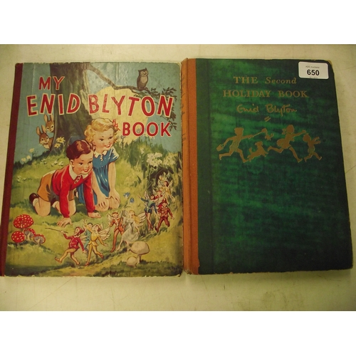 31 - 2 Early possibly 1st Edition Enid Blyton books....