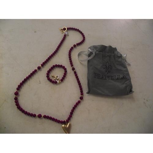 33 - Pranella designer jewellery set....