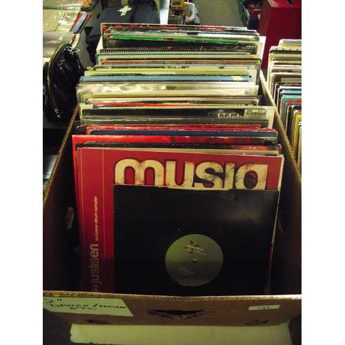 38 - Box of 120 dance lps...