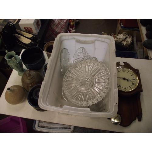 40 - 2 Boxes studio pottery etc...