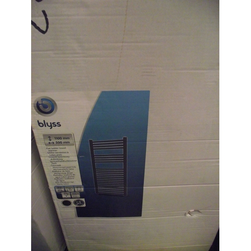 49 - blyss radiator 1100mm by 500 mm...