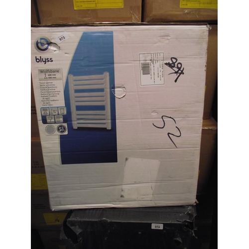 53 - blyss radiator  600mm by 500mm...