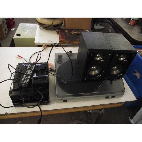 19 - Ion turntable with Hitachi separates....