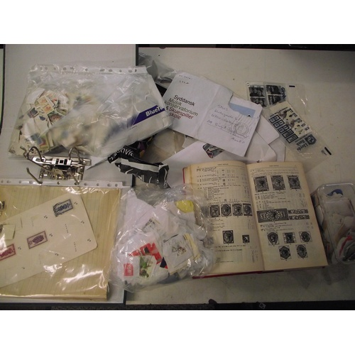 38 - Collection of assorted stamps...