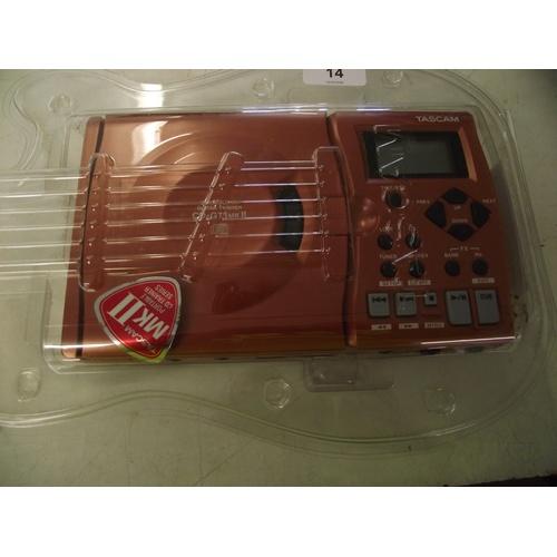 14 - Tascam CD-GT Guitar trainer MK11....