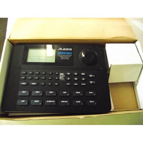 17 - Alesis SR-16 Digital drum machine no power adapter....