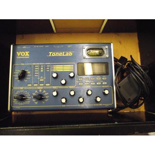 18 - Vox valvetronix tone lab guitar effects pedal....