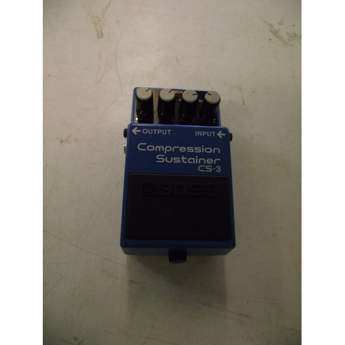 22 - Boss Cs-3 Compression Sustainer guitar effect pedal....