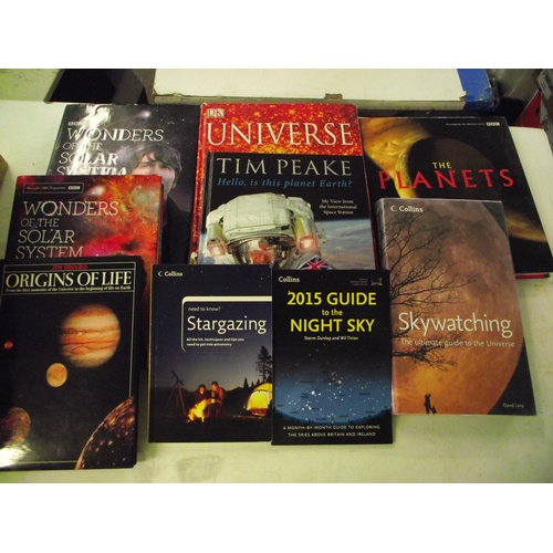 33 - Various books on space, the Universe ect....
